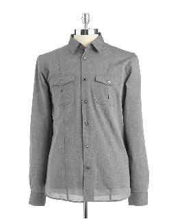 John Varvatos U.S.A. - Textured Button-Down Shirt