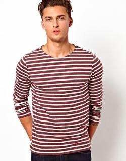ASOS  - Stripe Long Sleeve T-Shirt