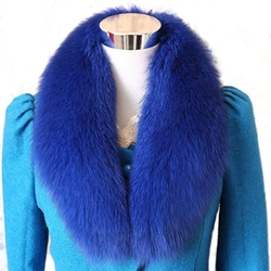 Merphcy - Fox Fur Winter Collar Scarf