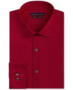 Geoffrey Beene  - Classic Fit Solid Dress Shirt