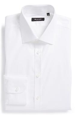 Sand - Extra Trim Fit Stretch Dress Shirt