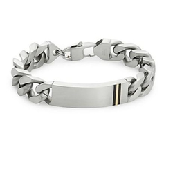 Saks Fifth Avenue - Stainless Steel & Titanium Bracelet