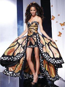 Panoply - Terrific Strapless Taffeta A-Line Dress