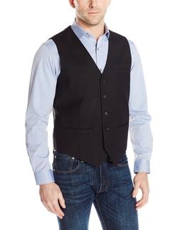 Perry Ellis - Textured Solid Suit Vest
