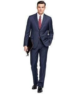 Brooks Brothers - Regent Fit Windowpane 1818 Suit