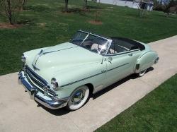 Chevrolet - 1950 Styleline Deluxe Convertible