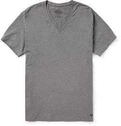Calvin Klein Underwear - Cotton-Blend Jersey V-Neck T-Shirt