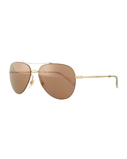 Gucci - Flash-Lens Aviator Sunglasses,
