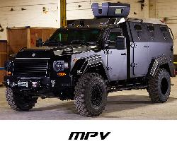 Terradyne Armored Vehicle Inc. - Gurkha MPV Truck