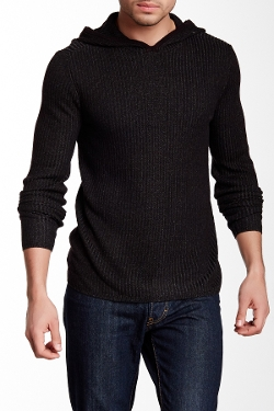 Star USA by John Varvatos - Rib Knit Hooded Sweater