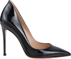 Gianvito Rossi - Patent Leather Ellipsis Pumps
