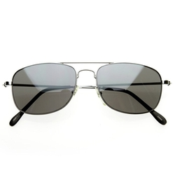 ZeroUV - Classic Square Aviator Sunglasses