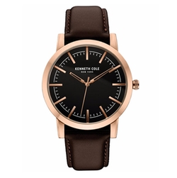 Kenneth Cole New York  - Leather Strap Watch