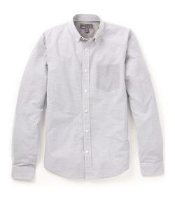Vince  - Contrast Micro Stripe Shirt