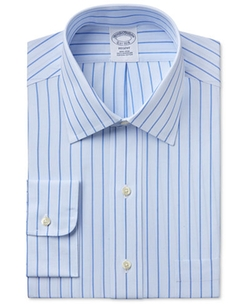 Brooks Brothers  - Regent Classic-Fit Striped Dress Shirt