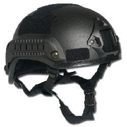 CamoOutdoor - US Military Combat Helmet 2001 MICH Padded Railed NV Mount Head Protection