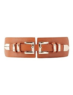 Charlotte Russe - Double Buckle Waist Belt
