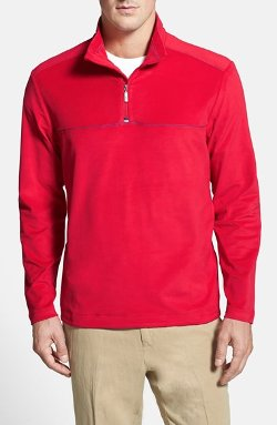 Tommy Bahama  - Softwear MVP Half Zip Jacket