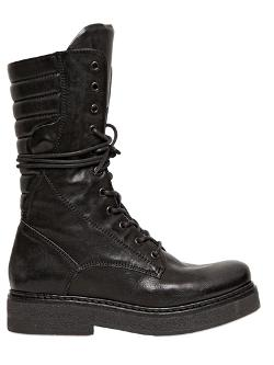 Janet&janet  - 40mm Lace Up Combat Boots