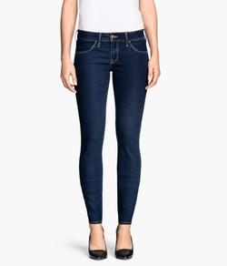 H & M - Skinny Low Jeans