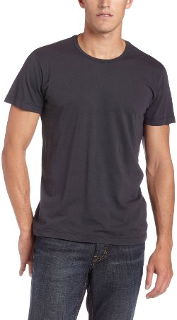 Velvetmen - Short-Sleeve Crew-Neck T-Shirt