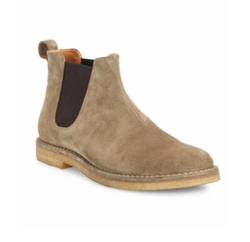 Vince - Sawyer Calf Suede Chelsea Boots