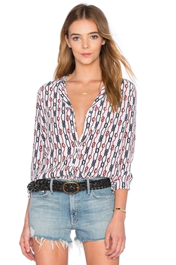 Equipment - Adalyn Long Sleeve Blouse
