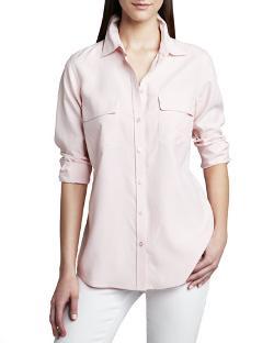 Go Silk  - Safari Long-Sleeve Silk Shirt