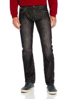South Pole - Slim Straight Fit Shiny Streaky Jean