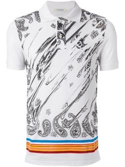 Iceberg  - Paisley Print Polo Shirt