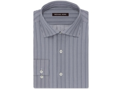 Michael Kors  - Slate Grey Stripe Dress Shirt