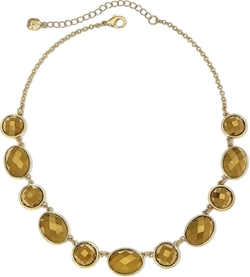 Monet - Gold-Tone Metallic Collar Necklace
