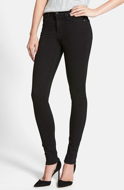 7 For All Mankind - High Waist Skinny Jeans