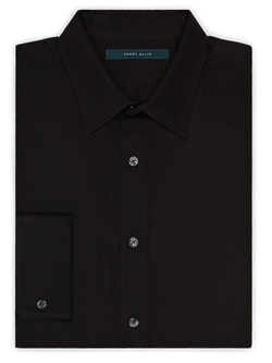 Perry Ellis - Tuxedo Inspired French Cuff Shirt