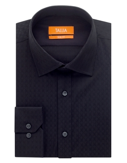 Tallia Orange - Slim Fit Tonal Print Dress Shirt