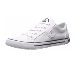 Armani Jeans - Canvas Low Top Sneakers