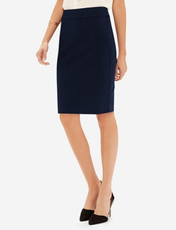 The Limited - Stretch Pleat Detail Pencil Skirt