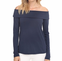 Splendid - Drapey Lux Off The Shoulder Top