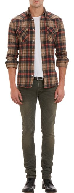 Iro - Plaid Flannel Shirt