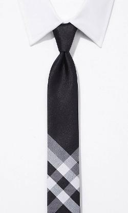 Express - Skinny Silk Tie - 2-in-1 Reversible