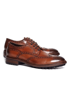 Brooks Brothers - Wingtip Lug Sole Oxford Shoes
