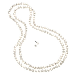 Croft & Barrow - Simulated Pearl Long Necklace