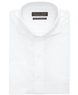 Donald J. Trump - Textured Solid French Cuff Shirt