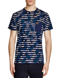 Fred Perry  - Camouflage Pocket T-Shirt