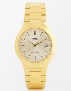Casio -  Steel Strap Watch
