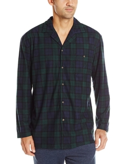 Nautica - Tartan-Plaid Camp Shirt