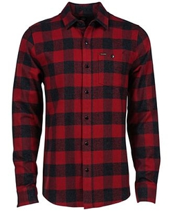 Volcom  - Echo Check Flannel Long-Sleeve Shirt