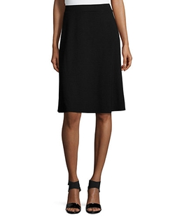Eileen Fisher  - Knee-Length Flared Skirt