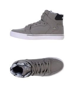 Supra - High-Top Canvas Sneakers
