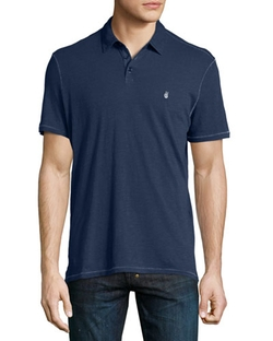 John Varvatos Star USA - Short-Sleeve Peace Polo Shirt